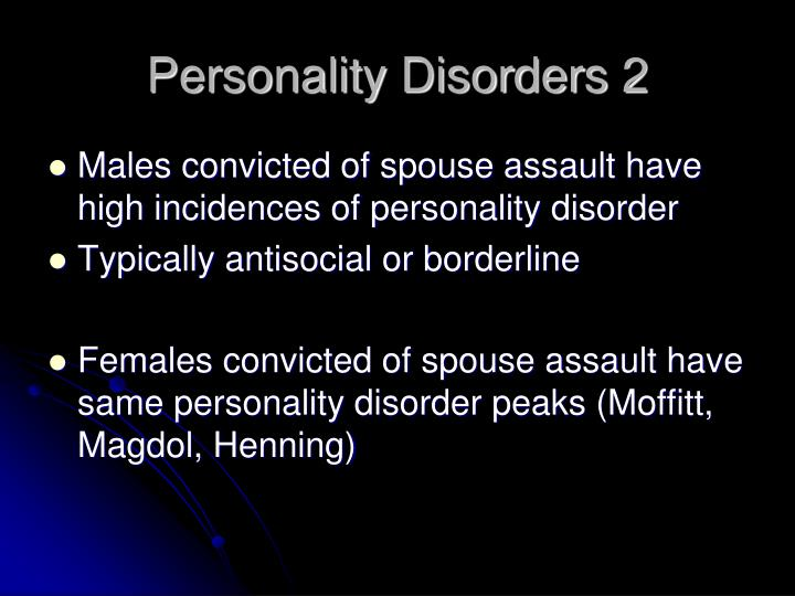Personality Disorders 2