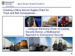 apex secure transit corridors