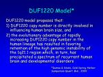 duf1220 model