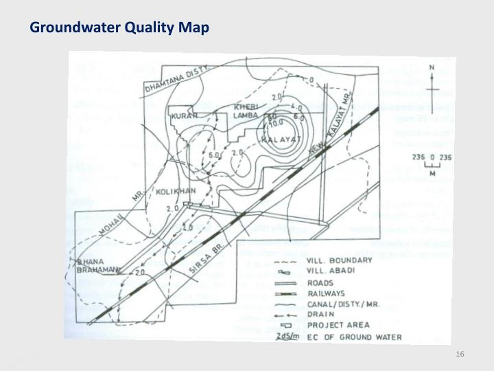 Groundwater Quality Map