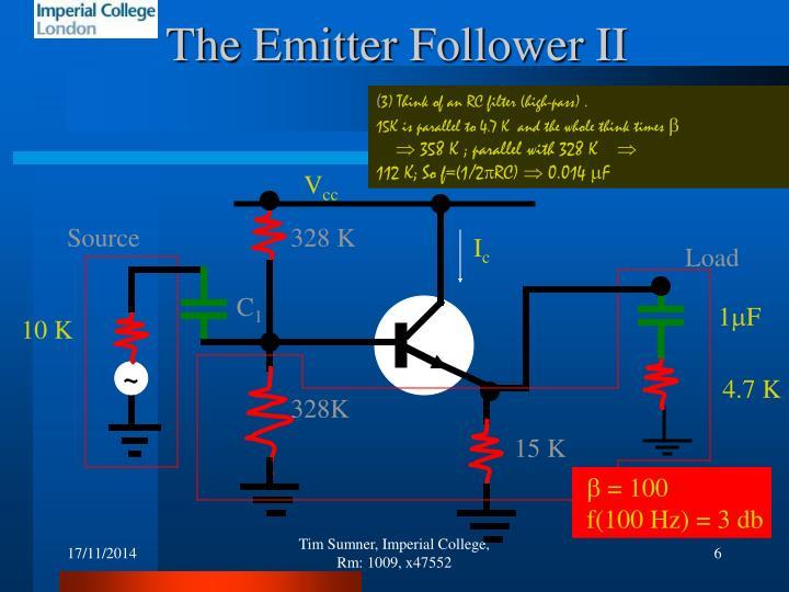 The Emitter Follower II