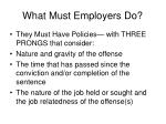 what must employers do