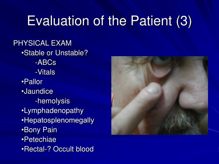 Evaluation of the Patient (3)