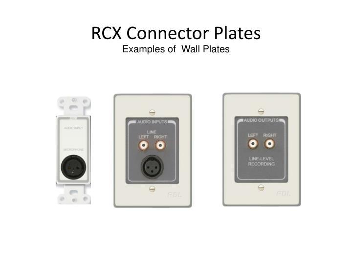 RCX Connector Plates
