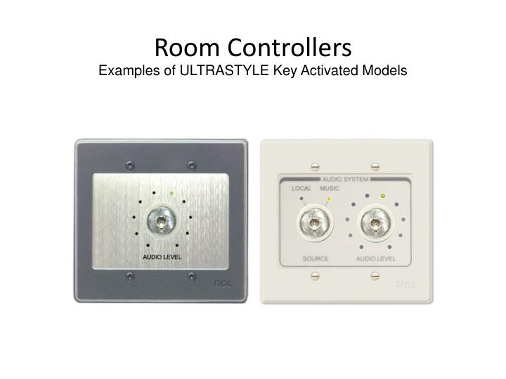 Room Controllers