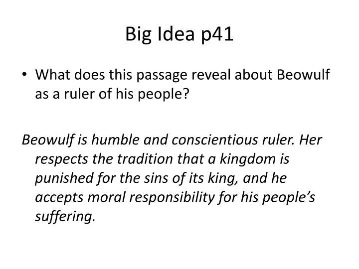 Big Idea p41