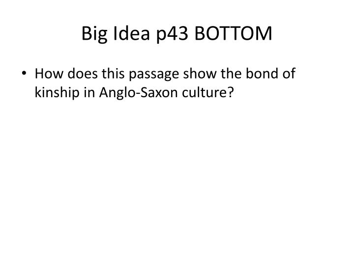 Big Idea p43 BOTTOM