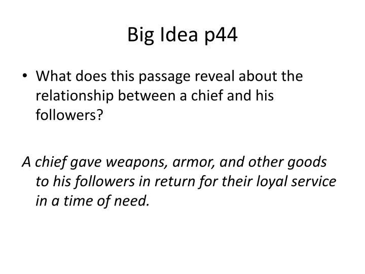 Big Idea p44