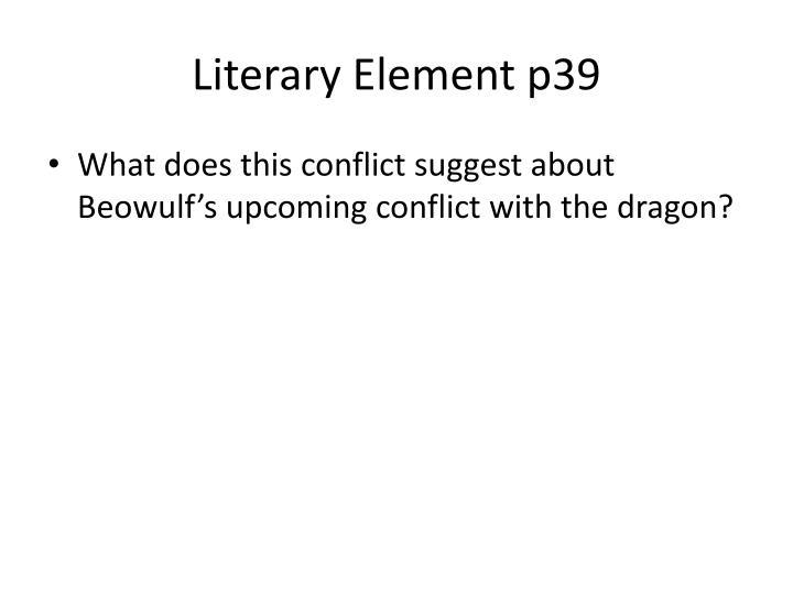 Literary Element p39