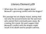 literary element p391