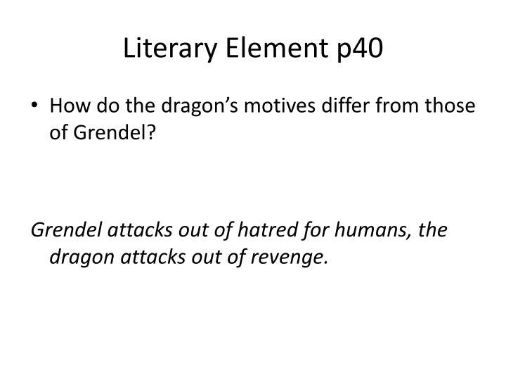 Literary Element p40