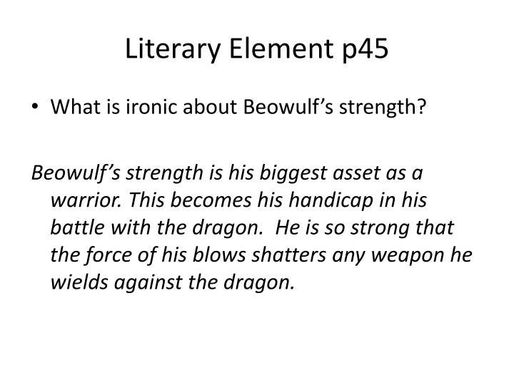 Literary Element p45