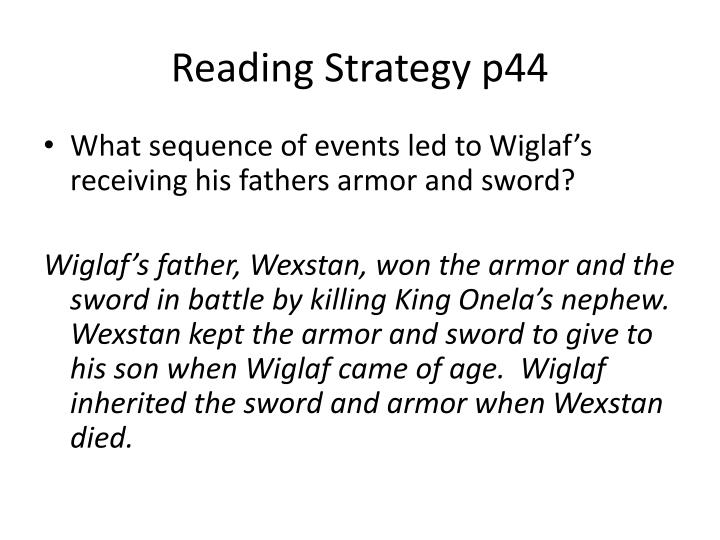 Reading Strategy p44