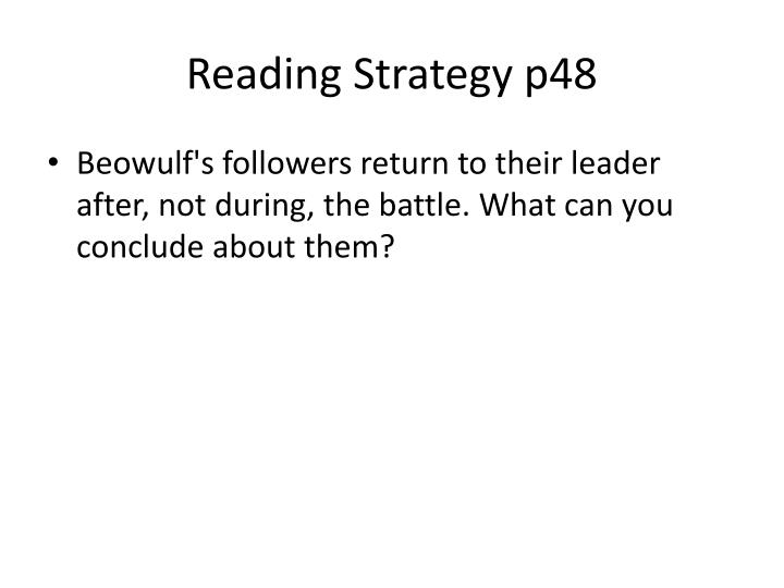 Reading Strategy p48