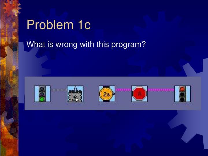 Problem 1c