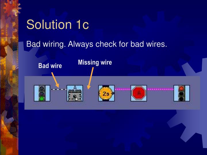 Solution 1c