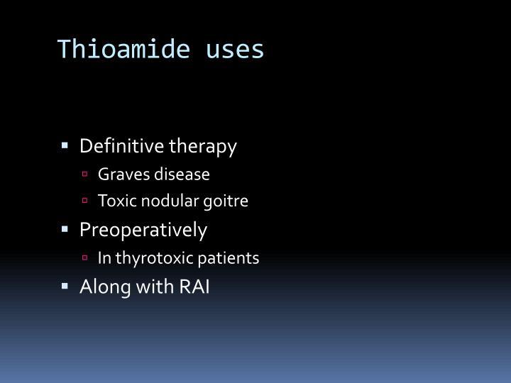 Thioamide