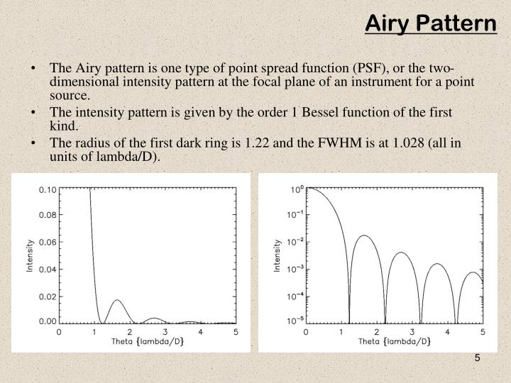 Airy Pattern