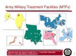 army military treatment facilities mtfs