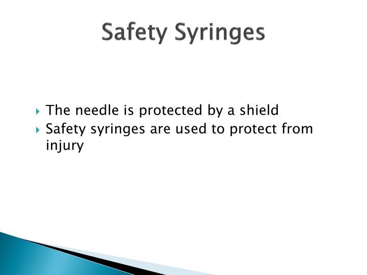 Safety Syringes