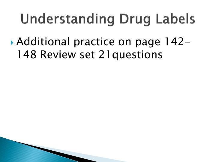 Understanding Drug Labels