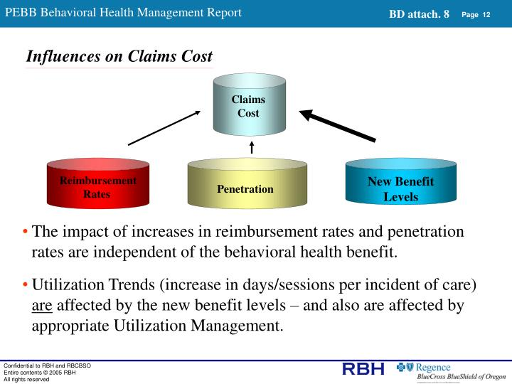 PEBB Behavioral Health Management Report