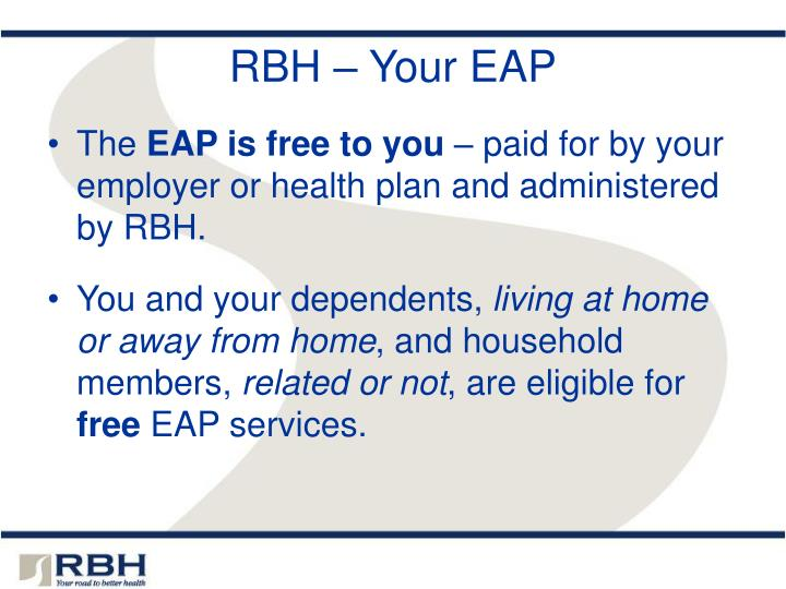 Rbh your eap