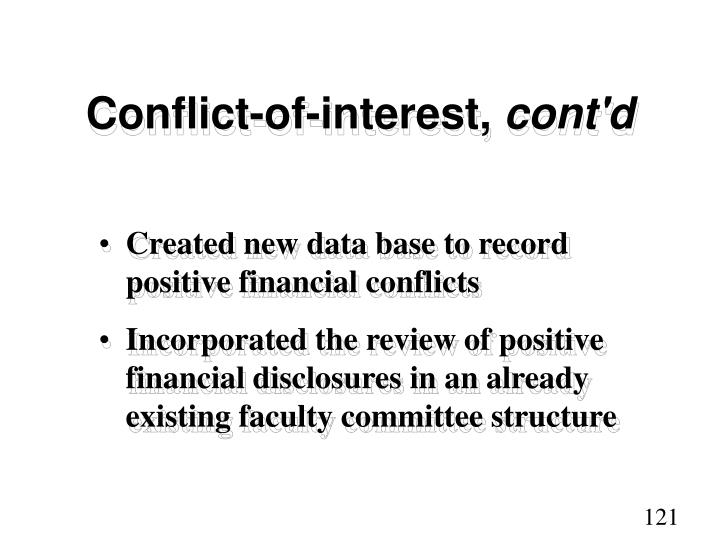 Conflict-of-interest,