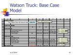 watson truck base case model
