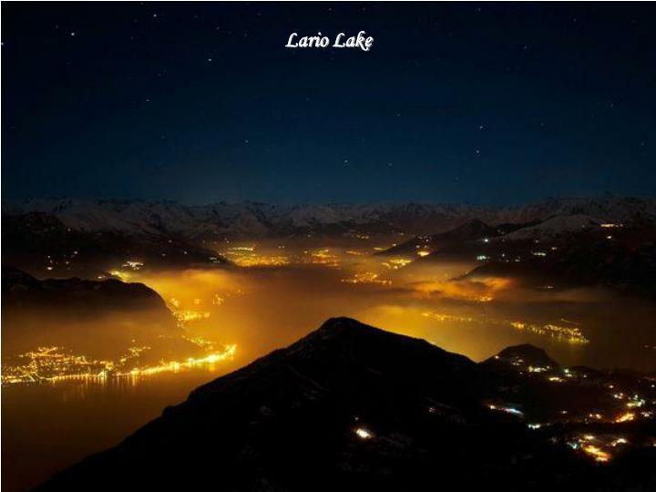 Lario Lake