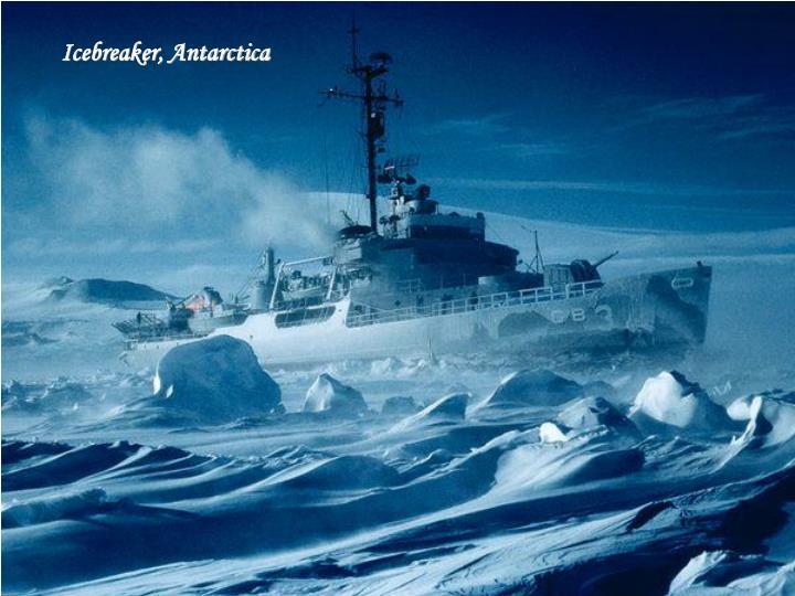 Icebreaker, Antarctica
