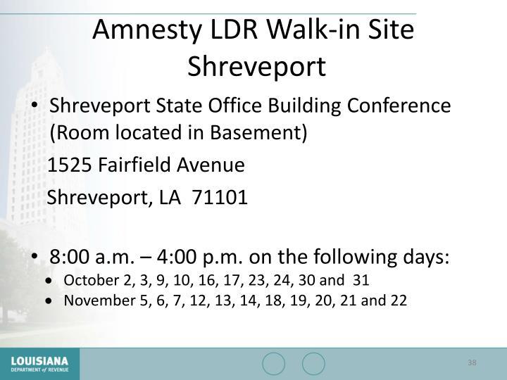 Amnesty LDR