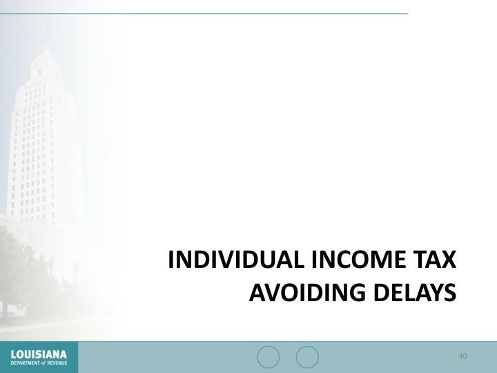Individual Income