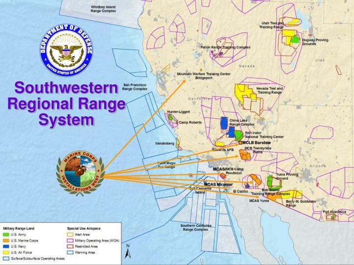 Southwestern Regional Range System