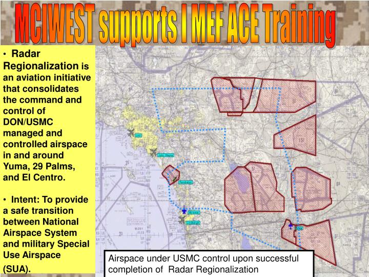 MCIWEST supports I MEF ACE Training