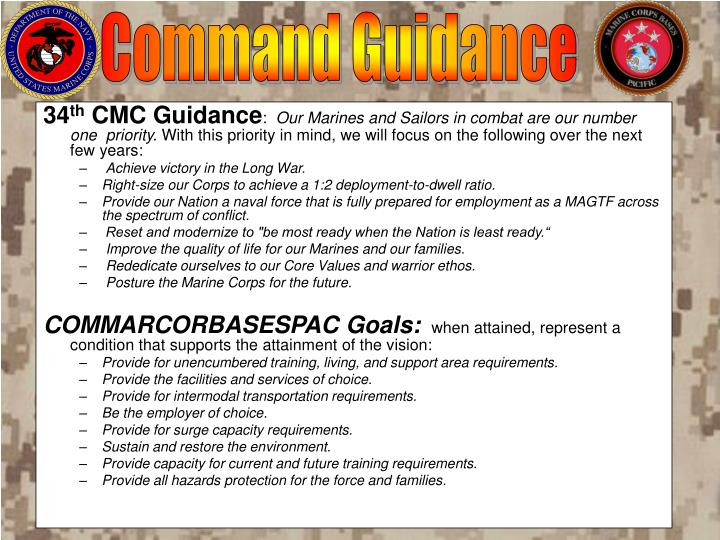 Command Guidance