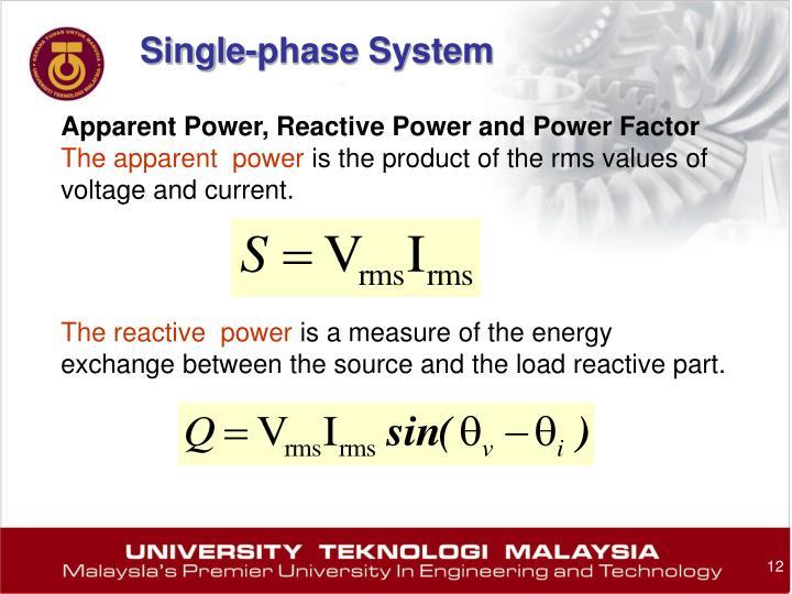 Single-phase System