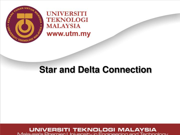 Star and Delta Connection