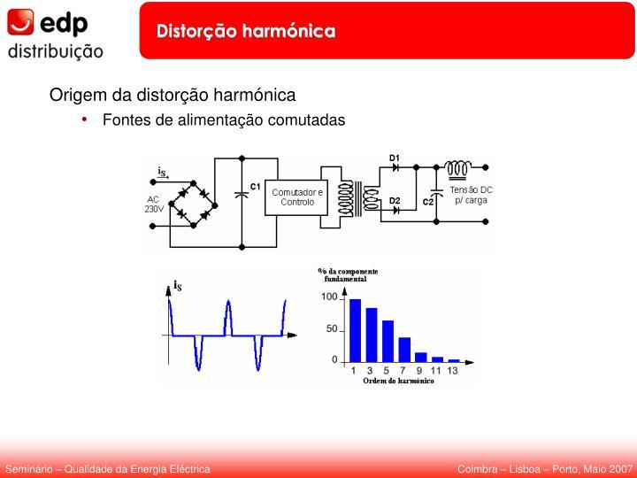 Distorção harmónica