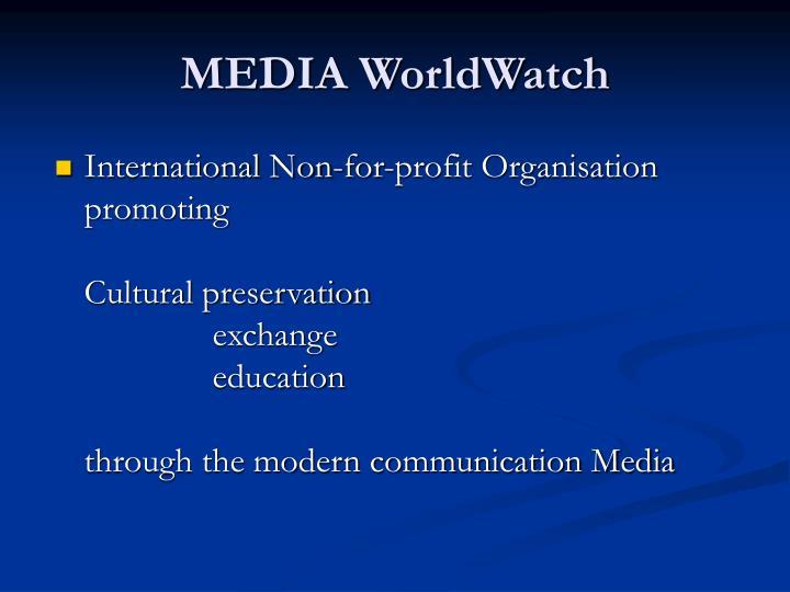 International Non-for-profit Organisation