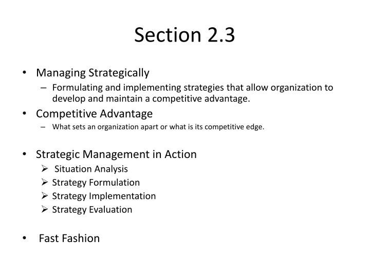 Section 2.3
