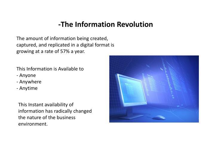 -The Information Revolution