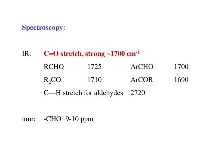 Spectroscopy: