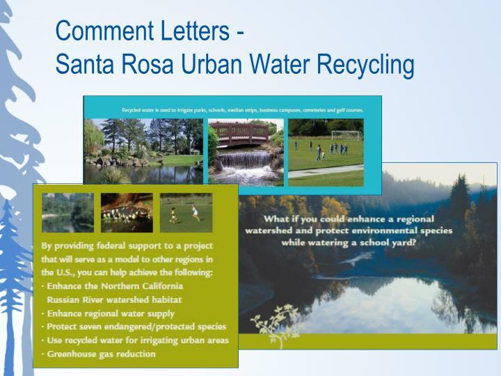 Comment Letters -