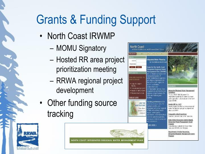 Grants & Funding Support