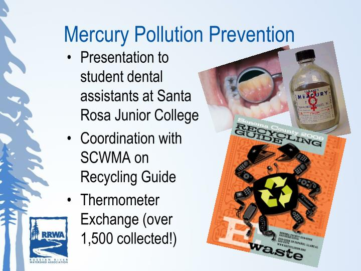 Mercury Pollution Prevention