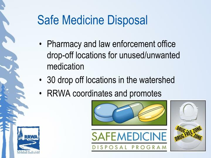 Safe Medicine Disposal