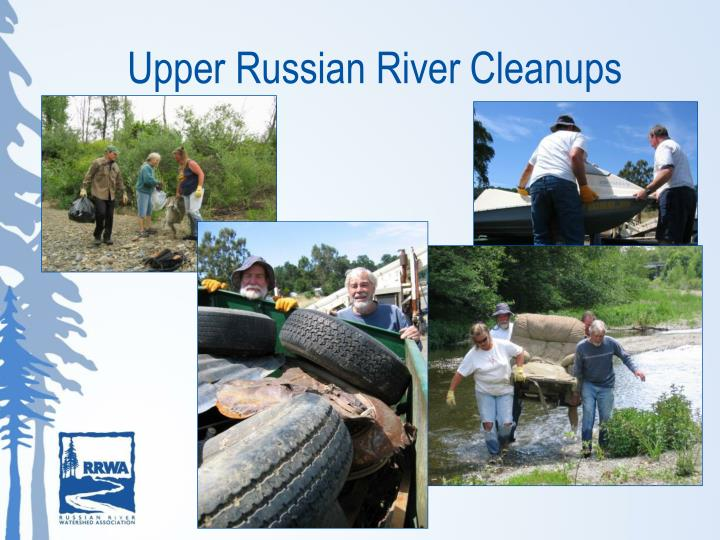 Upper Russian River Cleanups