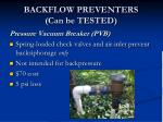 backflow preventers can be tested2