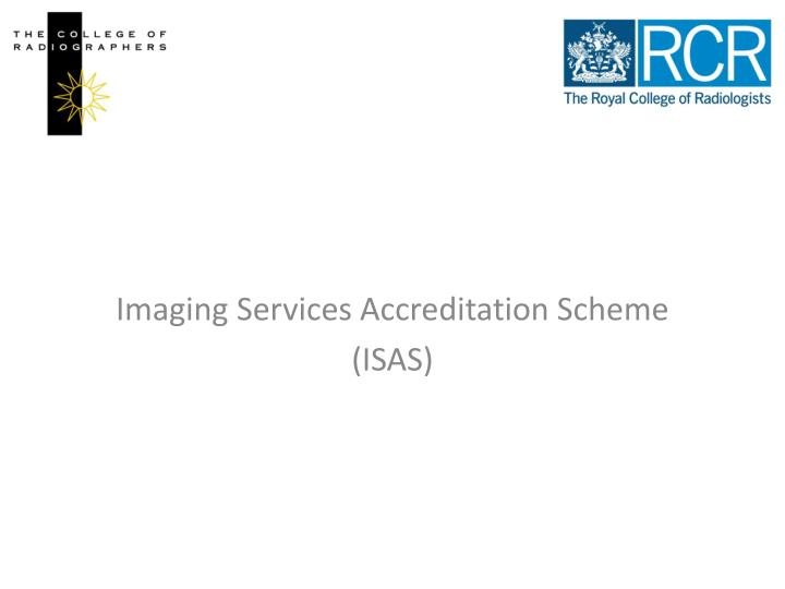 Imaging Services Accreditation